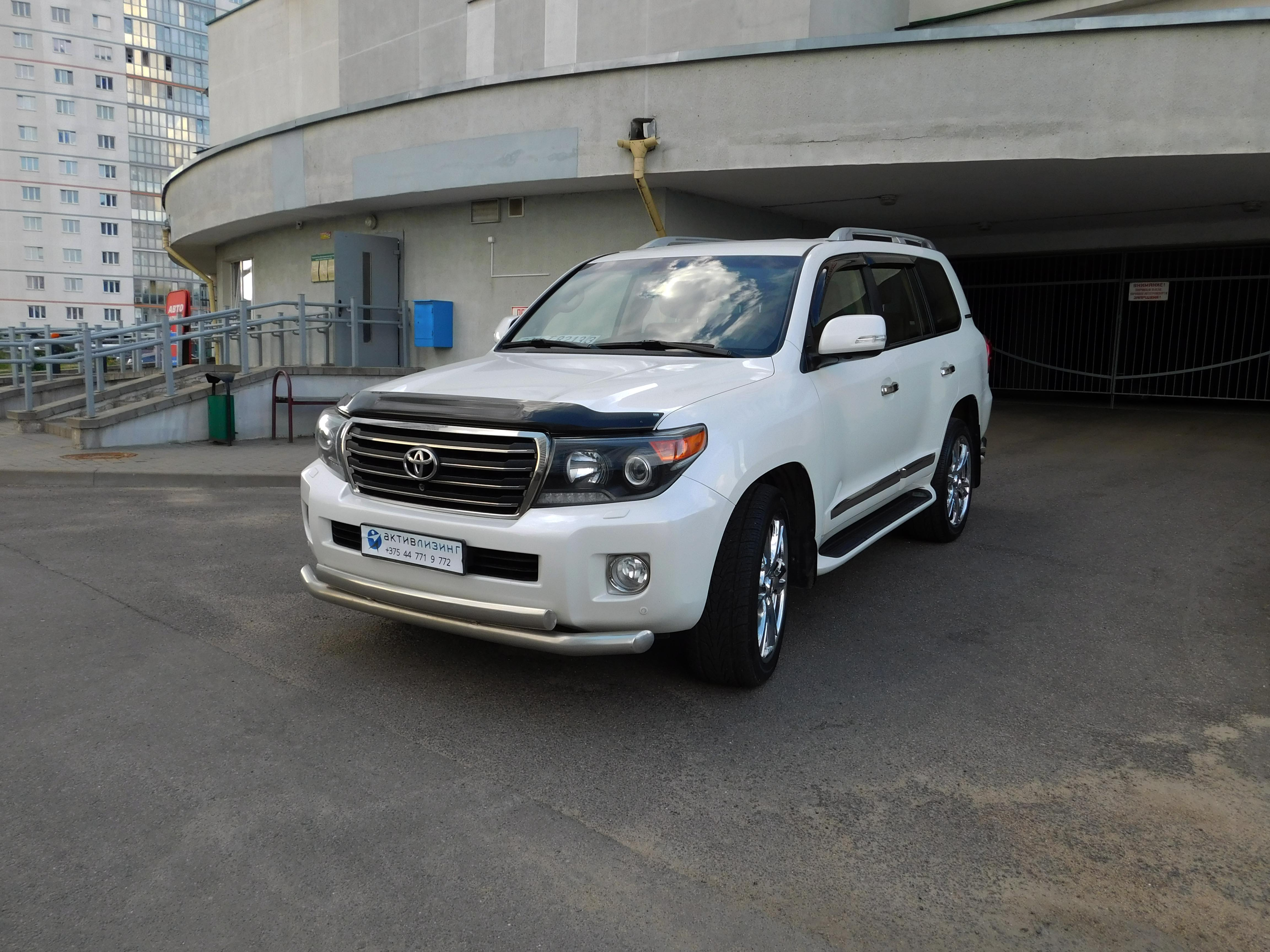 Toyota Land Cruiser Brownstone