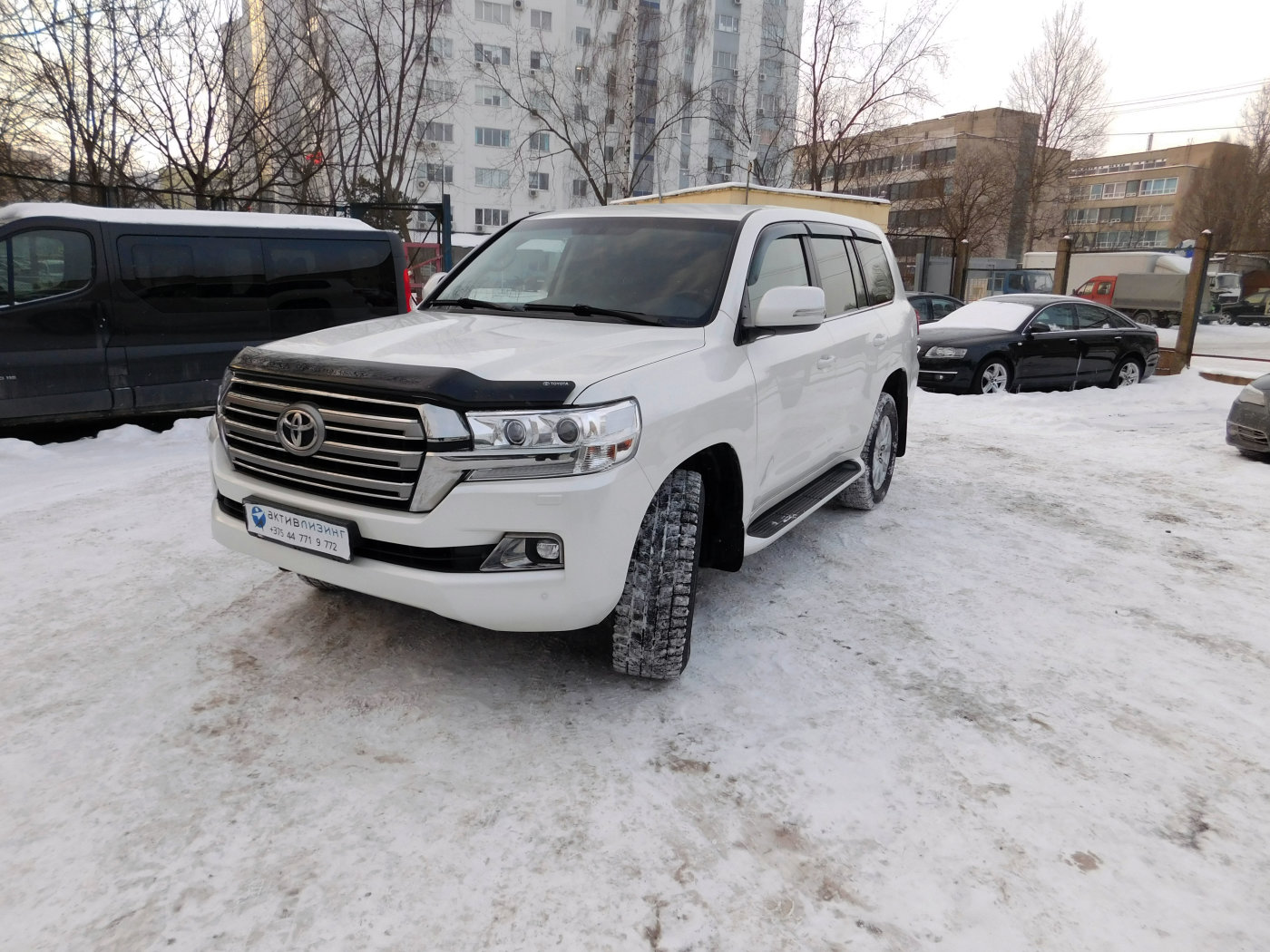 Toyota Land Cruiser с НДС, 2015